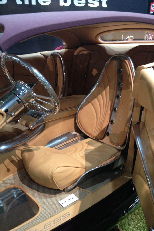 Interior Cadillac Custom Fleetwood