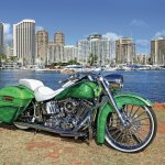 2013 Harley Davidson Custom Softail Deluxe Side View Lowrider