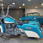 2005 Harley Davidson Road King Side View Lowrider