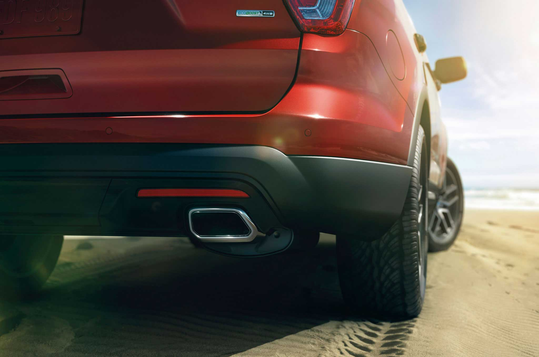 2016 ford explorer exhaust tip lowrider