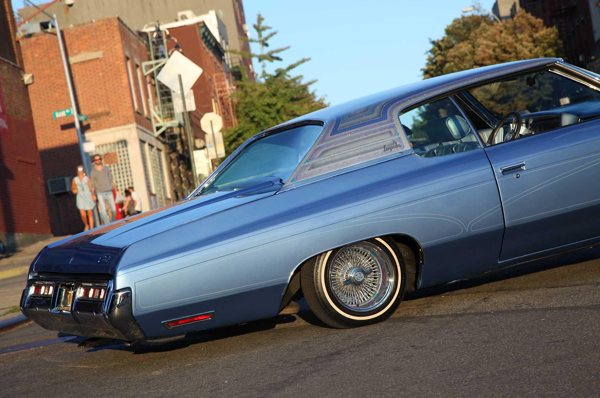 A 72 Chevy Impala Thats LA Built For NY Riding