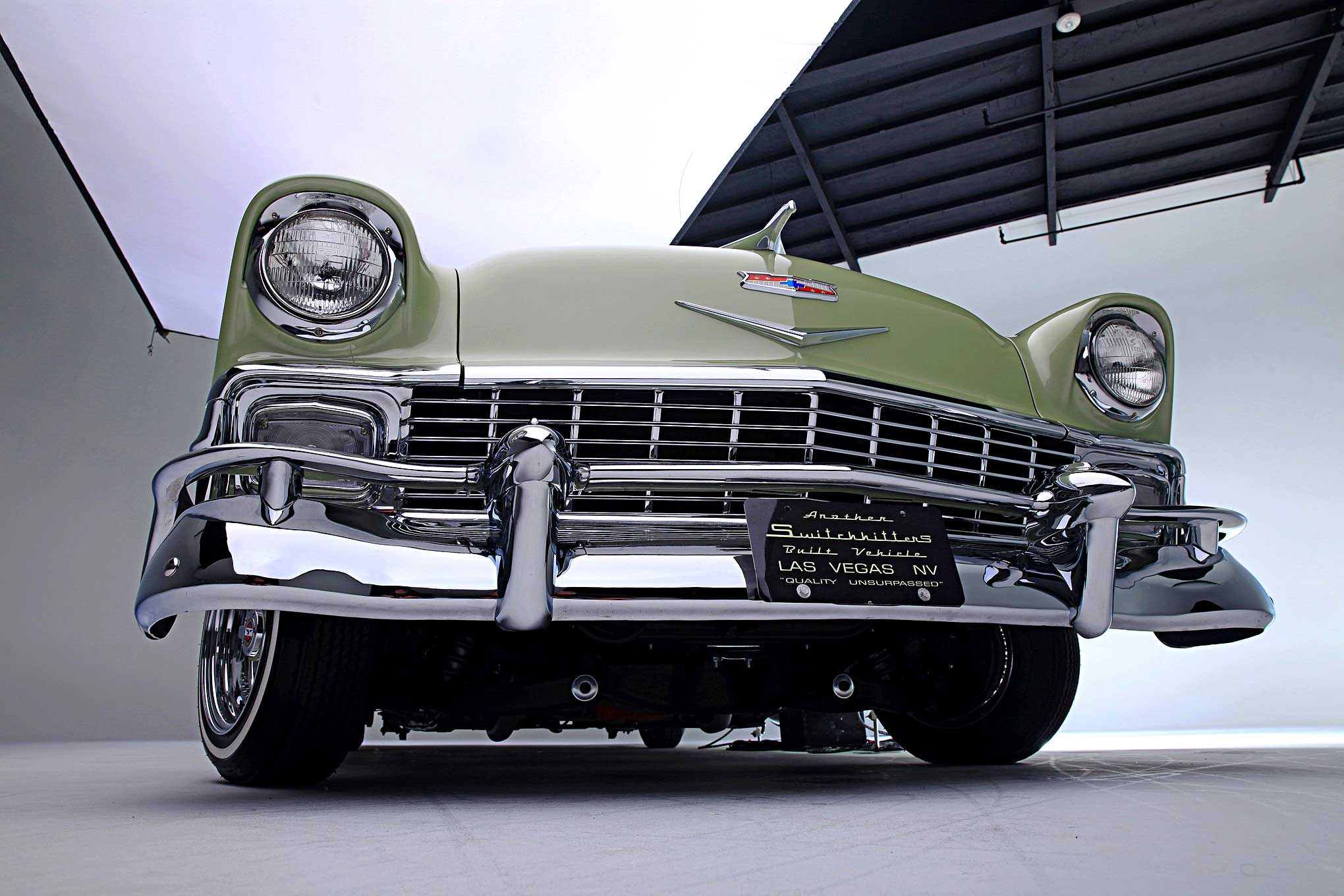 1956 Chevrolet Bel Air   The Myth of the  56 12 67