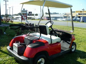 Used Yamaha G19E Electric Golf Car golf carts Year: 2001