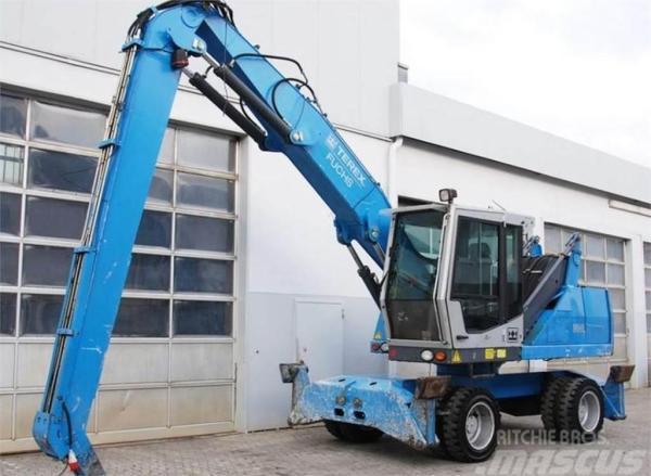 Used Terex Fuchs MHL 320 wheeled excavators Year: 2009 ...