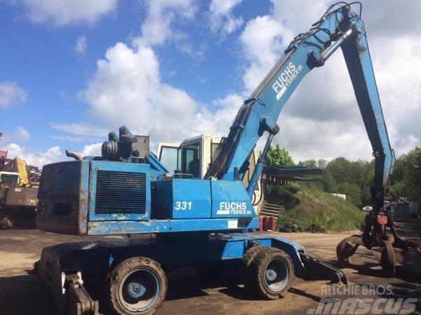 Terex Fuchs MHL331 - Waste / industry handlers, Price: £ ...