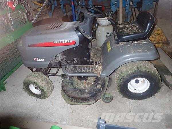 Used Craftsman LT 1000 compact tractors Price 991 for