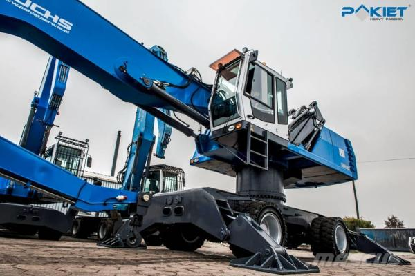 Terex Fuchs MHL 360 D - Wheel loaders, Year of manufacture ...