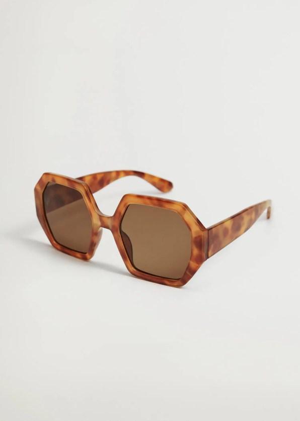Tortoiseshell oversize sunglasses - Mango