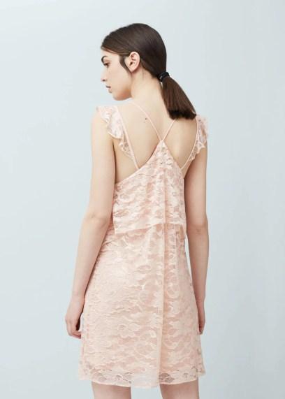 Sukienka z koronką | MANGO