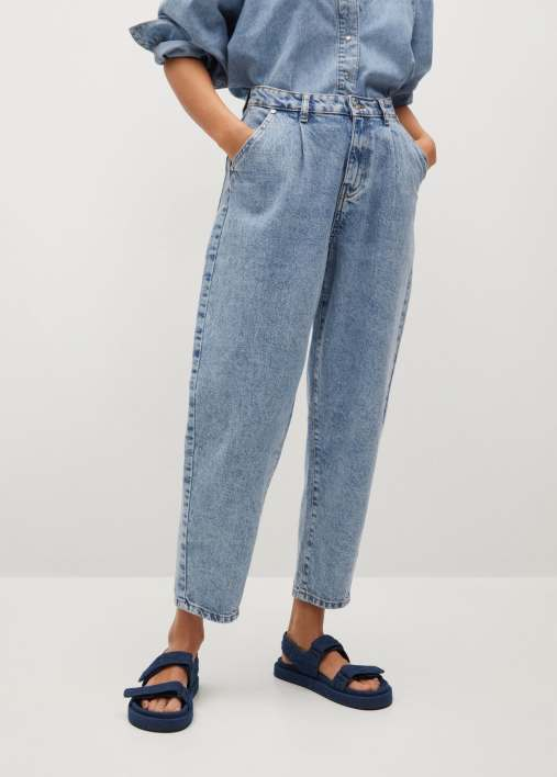 Dart slouchy jeans - Medium plane