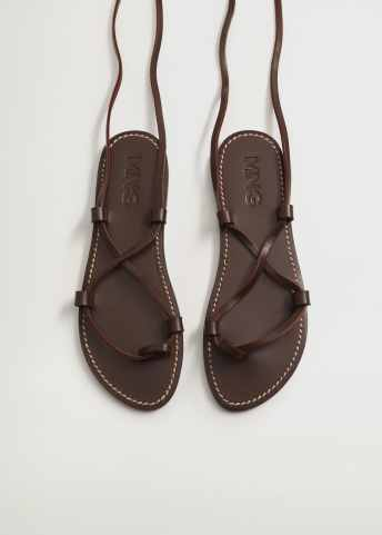 Leather straps sandals - Details of the article 3