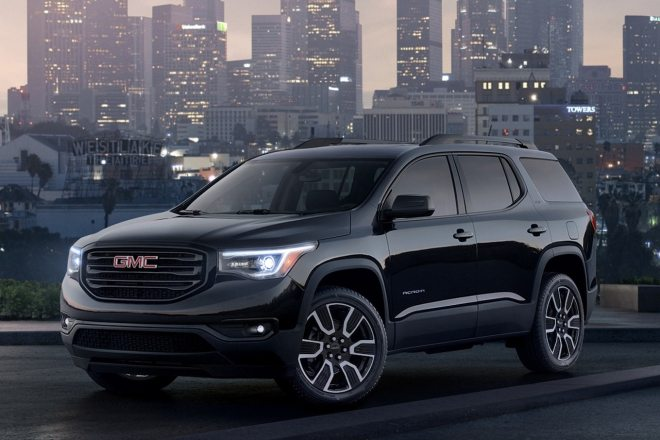 2019 gmc acadia and terrain black editions arrive this summer