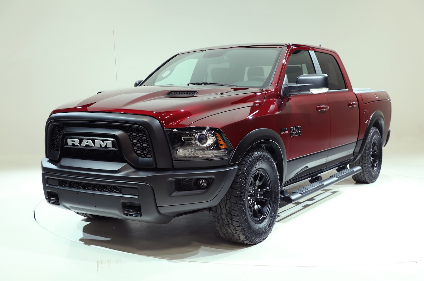 Ram Spices Up 1500 Rebel With New Delmonico Red Paint