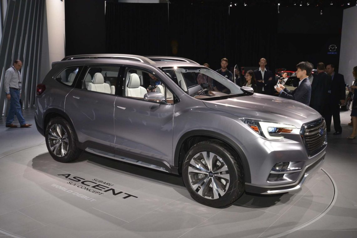 production 2019 subaru ascent will go on sale in 2018 - motor trend