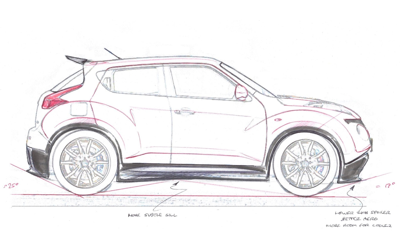 Baby Godzilla Nissan Juke R Revealed With Gt R Power With Video