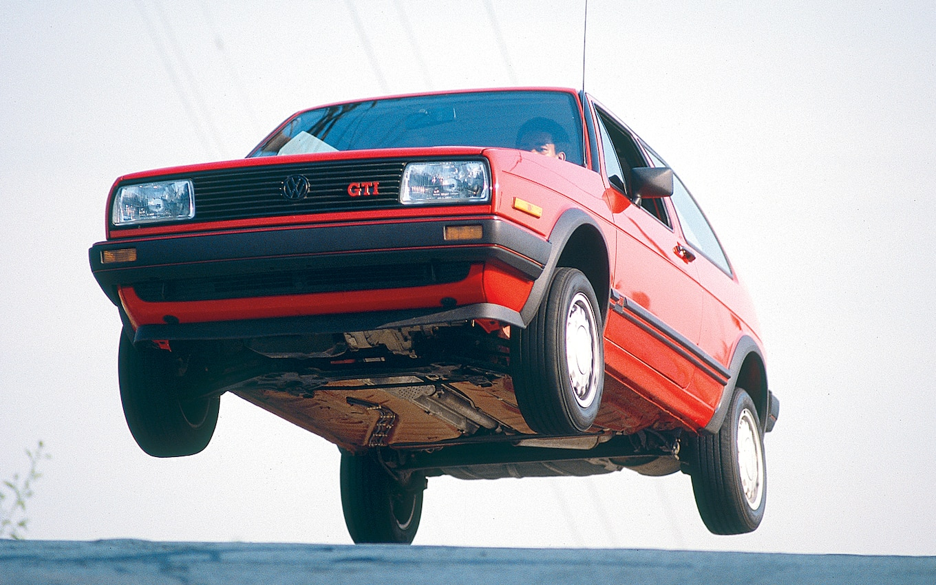 Image result for volkswagen golf mid-air
