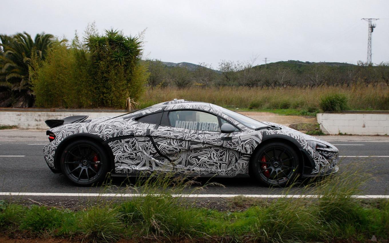 Subliminal Messages Spied McLaren P1 Sports Race Track