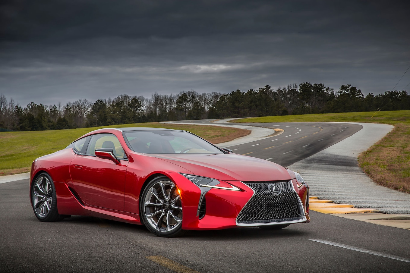 2018 Lexus LC 500 Packs 471 HP Goes Sale Next May