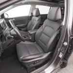 2017 Kia Sportage EX AWD front interior seats