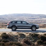 2017 Volvo V90 Cross Country side profile in motion 02