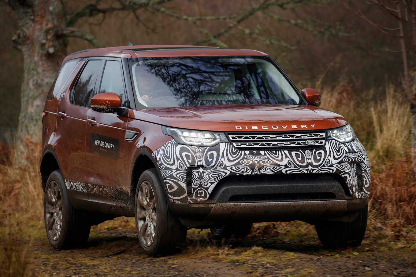 Land Rover Discovery 2 f Road Bumpers