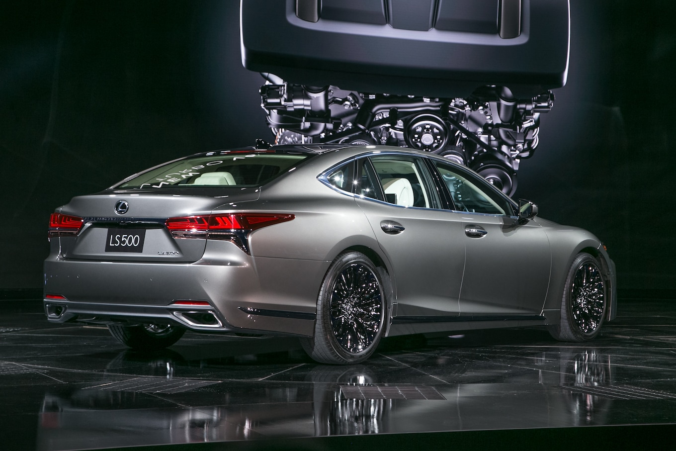 2018 Lexus LS 500 F Sport Coming To New York Motor Trend