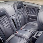 2017 Bentley Continental Supersports convertible rear interior seats