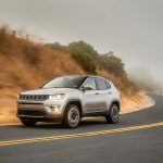 2017 Jeep Compass Limited front three quarter in motion 02 1