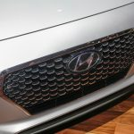 2018 Hyundai Elantra GT Sport hatchback grille