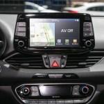 2018 Hyundai Elantra GT hatchback center stack screen