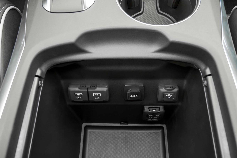 2017 Acura MDX Hybrid USB Aux Ports Motortrend