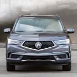 2017 Acura MDX Hybrid front end