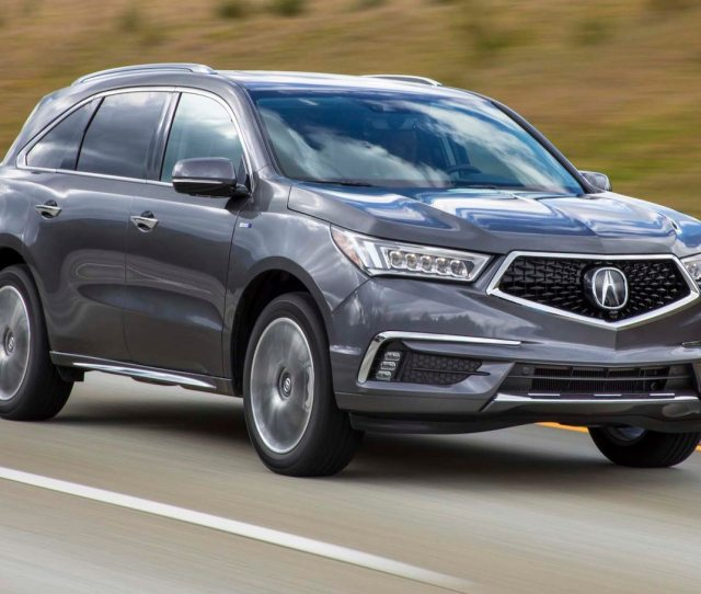 Acura Mdx Hybrid First Drive Review A Small Piece From The Nsx Motor Trend