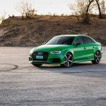2017 Audi RS 3 front three quarter 02