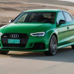 2017 Audi RS 3 front three quarter in motion 02