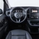 2017 Mercedes Benz Metris cockpit