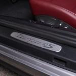 2017 Porsche 911 Targa 4S door sill