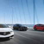 2018 Acura TLX front three quarters in motion