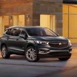 2018 Buick Enclave Avenir front three quarter view