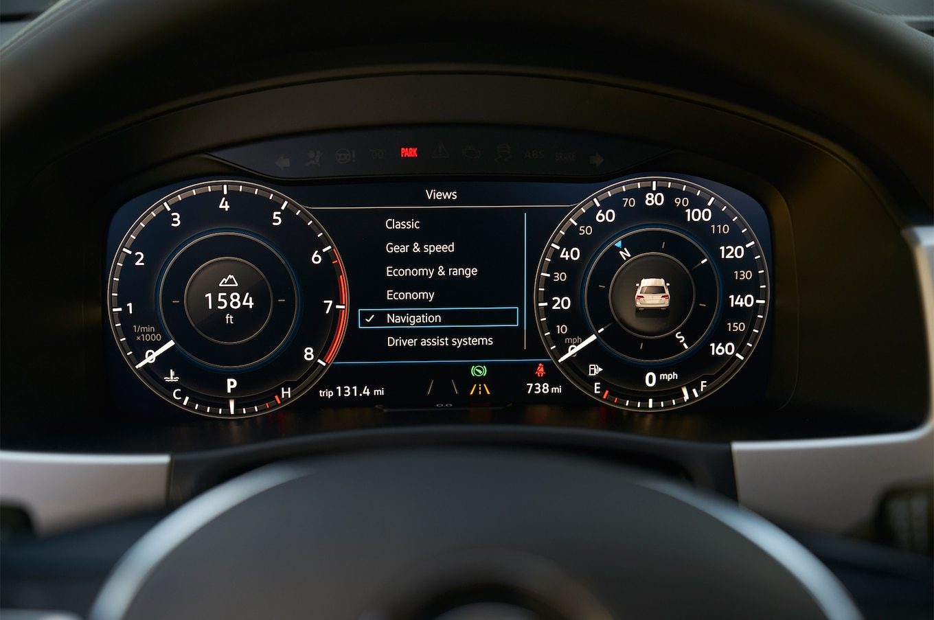 2018 Volkswagen Atlas instrument panel 02
