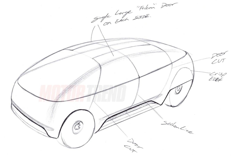 Apple car sketches 02