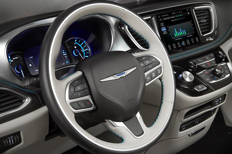 Chrysler Pacifica Hybrid Steering Wheel