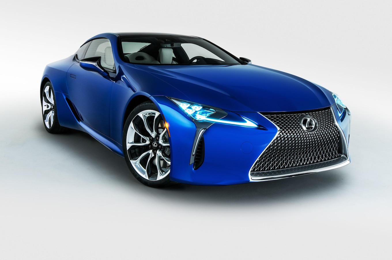 2018 Lexus LC Special Editions Inspired by Black Panther Movie