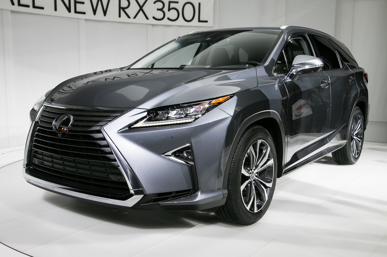 2018 Lexus RX L First Look More Space for the Clan Motor Trend