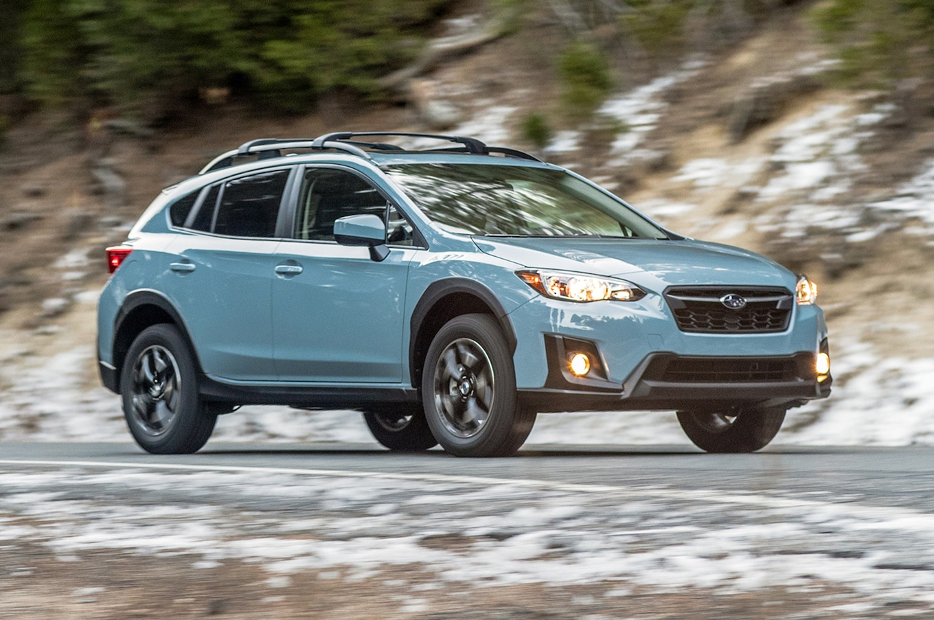 This was a nice surprise—and one of my favorite qualities—because compact  vehicles are not always known for ride quality. The Crosstrek's is one of  the best ...