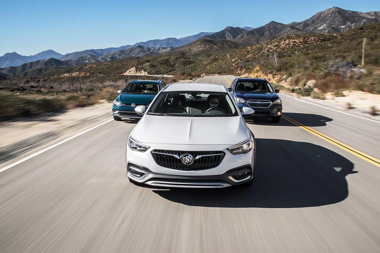 Buick Regal TourX vs. Subaru Outback 3.6R vs. Volkswagen ...