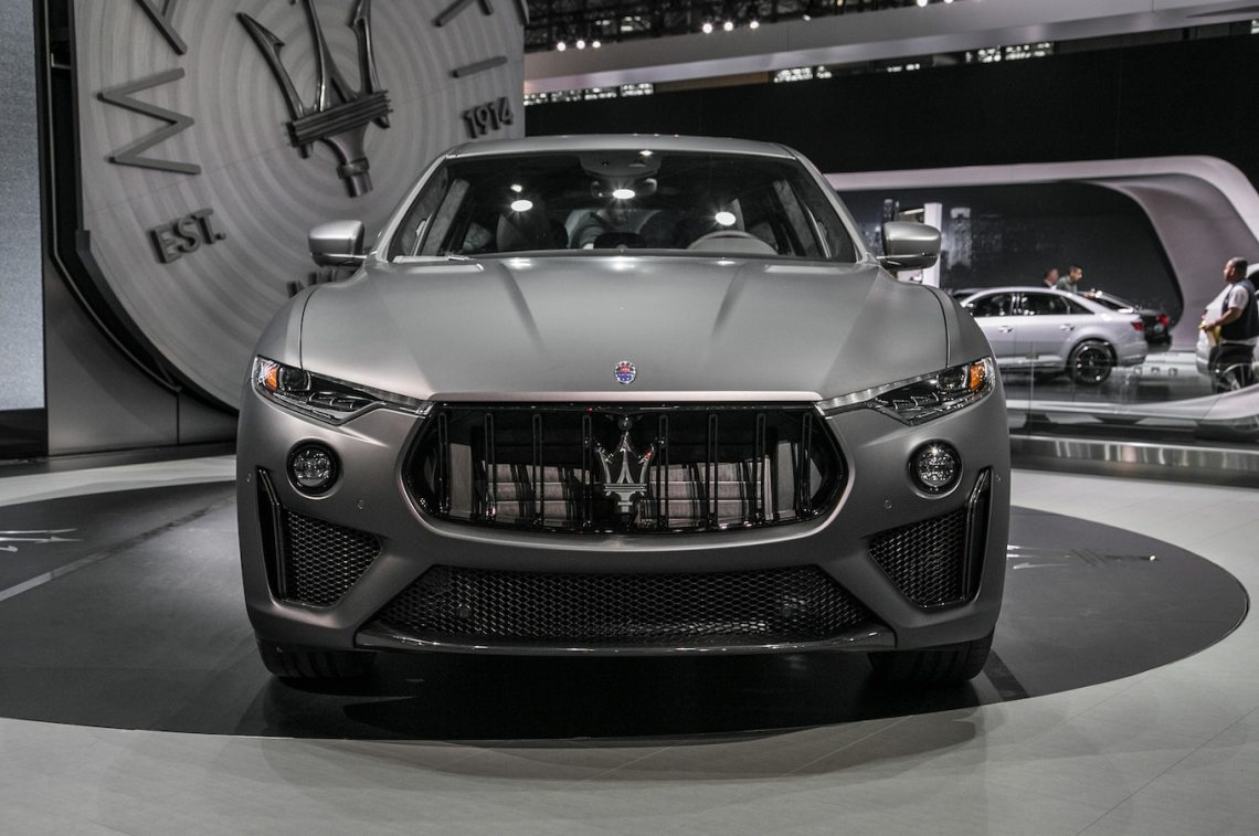 2019 maserati levante trofeo packs a 590-hp twin-turbo v-8 - motor trend