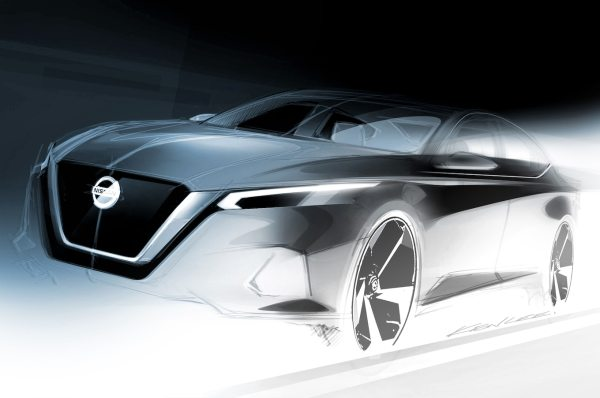 2019 Nissan Altima Previewed in New Sketch - Motor Trend