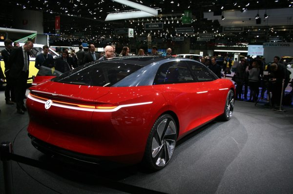 Volkswagen ID Vizzion Concept is the Family Sedan of the