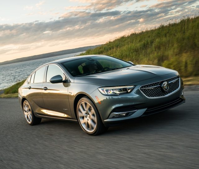Buick Regal Avenir Is The Latest To Get The New Top Trim Level Motor Trend